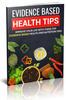 Thumbnail Evidence Based Health Tips